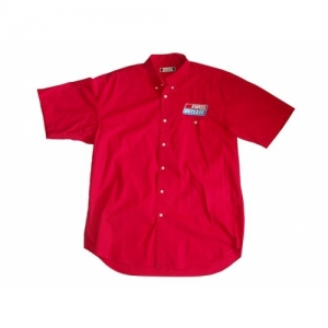 SHIRT SHORTSLEEVE SWISS HUTLESS RED