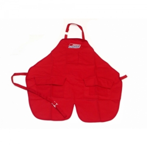 SH MECHANICS APRON RED