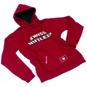"PULLOVER ""SH"" RED, WITH HOOD, 8"