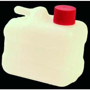 QUADRANGULAR OVERFLOW CONTAINER FOR GAS TANK