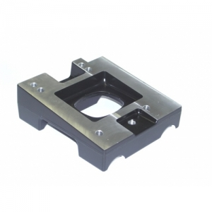 "ENGINE MOUNT ""LONGLIFE"" ALUMINIUM 92X30MM, IAME/SWIFT/ROTAX MAX"