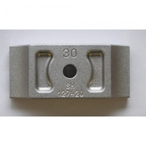 "BRIDE SUPPORT MOTEUR ""LONGLIFE"", 92X30MM"