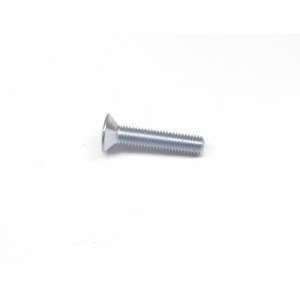 SEAT SCREW (OVAL, COUNTERSUNK HEAD) M8X40, SILVER