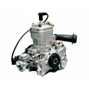 ENGINE IAME X30 COMPLETE WITH EXHAUST, CARBURETTOR, RADIATEUR, WATERPUMP, WITHOUT BATTERY