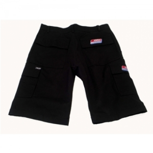 PANTS SHORT SH BLACK, W/SIDE POCKETS, SIZE=54