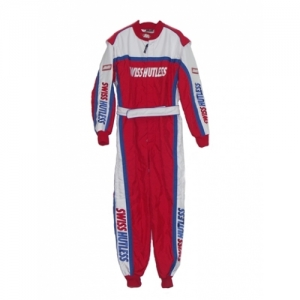 "OVERALL ""SH-MIR"", RED/WHITE/BLUE, 36"
