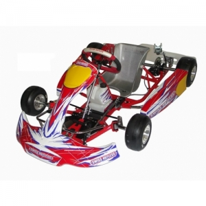 KART MINI 950 RED, WITHOUT TYRES/ENGINE
