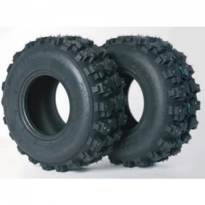 ICE KART TYRE FRONT AND REAR (PER PIECE), 11.0 X 4.0-5, 66 SPIKES