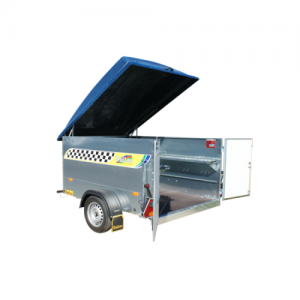 DALTEC KART 2 TRAILER, WITH DOOR-CLOSURE