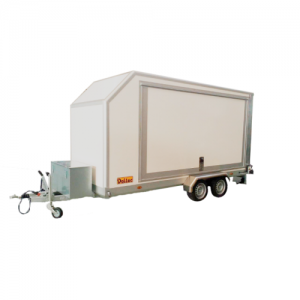 DALTEC KART 3 TRAILER, WITH LIFT FOR 3 LEVELS