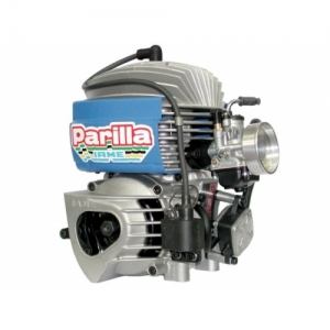 "MOTEUR IAME PARILLA ""SUPER-MINI SWIFT"", INCLUS DEMARREUR, ECHAPPEMENT, CARBURATEUR"