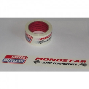 "TAPE-ROLL ""SH/MONOSTAR"" PRINTED, 50MM X 66M, WITHE"