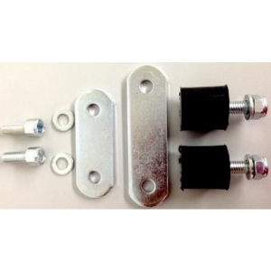 "HOLDER FOR GASOLINE PUMP ""KZ-TM"", CHROME-PLATED, INCL. SILENTBLOC AND SCREWS"