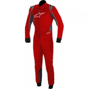 SUIT ''ALPINESTARS'', KMX 9, DARK RED, ANTHRACITE, WHITE / SIZE 42