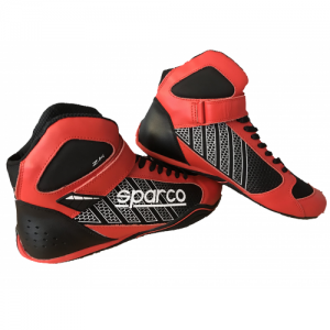 """CHAUSSURES KART """"SPARCO OMEGA"""", KB-6 ROUGE/NOIR TAILLE 38"""