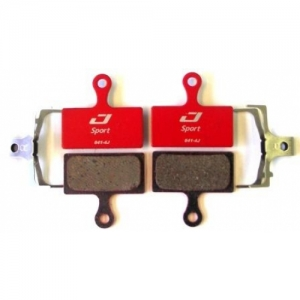 SET BRAKE LININGS ''PA-RACE'', FRONT (4 PC.)