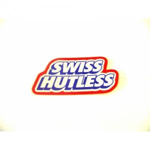 KLEBER SWISS HUTLESS, 135X63MM, ROT/BLAU/WEISS