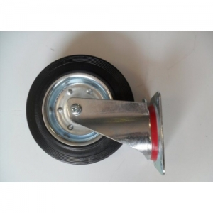 SPARE WHEEL FOR KART TROLLEY, REVOLVING, DIA 100MM