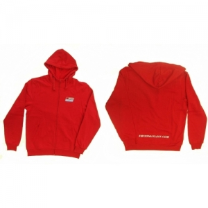 "SWEAT JACKET ""SH"" WITH HOOD, L"
