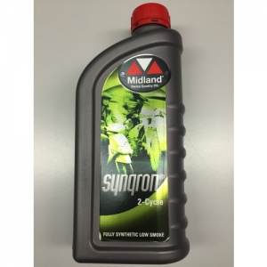 MIDLAND OIL 2-STROKE, SYNQRON, 1 LITER