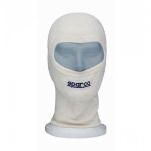 "UNDER HELMET ""SPARCO"" WITH EYE SLIT CIK, WHITE"