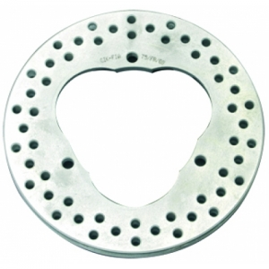 BRAKE DISC FRONT CAST VENTILATED, BLUE, 12X148MM