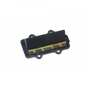 """REED VALVE UNIT IAME, WITH RUBBER, """"X30"""" (TOP) CARBON"""