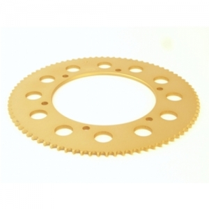 SPROCKET MINISTAR-SUPER ALU, T=66