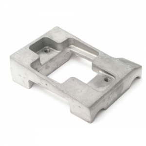 ENGINE MOUNT ALU 925X30MM, BMB, COUNTERPART AND BOLT INCL.