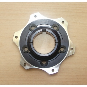 SPROCKET SUPPORT, 50MM, FLOATING, ANODIZED, GOLD-COLORED