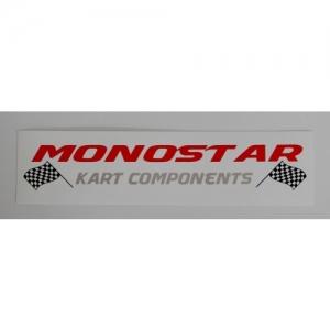 """STICKER """"MONOSTAR"""" 200X50MM"""